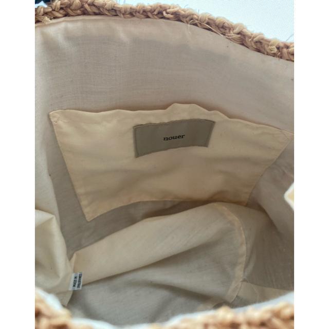DEUXIEME CLASSE(ドゥーズィエムクラス)のニコチャン⭐️カゴ🔴最終フォロー価格 レディースのバッグ(かごバッグ/ストローバッグ)の商品写真