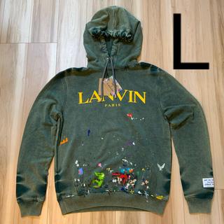 LANVIN - GALLERY DEPT. × LANVIN Printed Hoodie L
