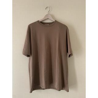 コモリ(COMOLI)のAURALEE オーラリー LUSTER PLAITING TEE(Tシャツ/カットソー(半袖/袖なし))