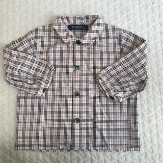 バーバリー(BURBERRY)のBURBERRY バーバリー シャツ 80cm(シャツ/カットソー)