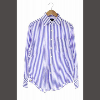 ポールスミス(Paul Smith)のポールスミス ブリティッシュ コレクション シャツ L ブルー ホワイト(シャツ/ブラウス(長袖/七分))