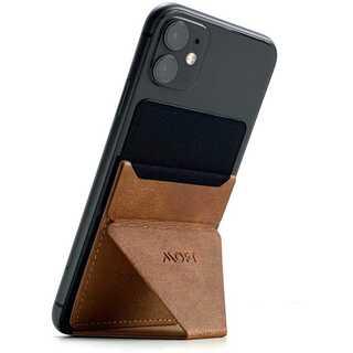 正規品 Moft x スマートフォンスタンド ブラウン(iPhoneケース)