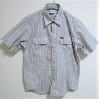 カーハート(carhartt)のCarhart ストライプワークシャツ☆半袖シャツ カーハート(シャツ)