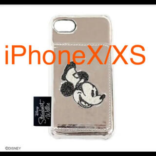 ディズニー(Disney)のアコモデ iPhone カバー ケース ミッキー スマホ ディズニー(iPhoneケース)