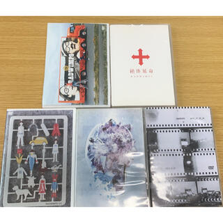 RADWIMPS ライブDVDセット5枚(ミュージック)