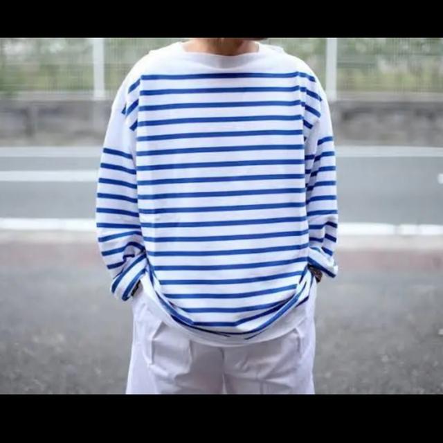 1LDK SELECT(ワンエルディーケーセレクト)のOUTIL ウティ TRICOT AAST バスクシャツ サイズ1 メンズのトップス(Tシャツ/カットソー(七分/長袖))の商品写真