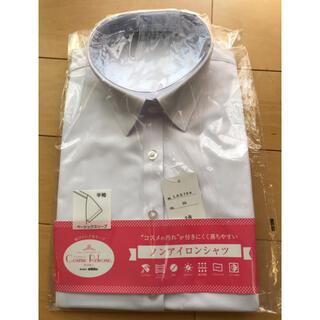 アオキ(AOKI)のAOKI ノンアイロンシャツ 新品未使用 半袖 9号(シャツ/ブラウス(半袖/袖なし))
