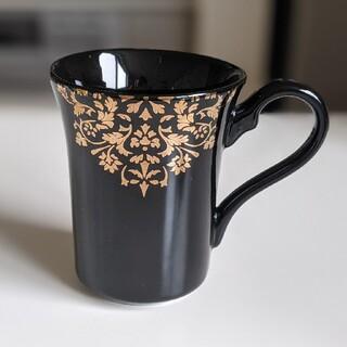 フランフラン(Francfranc)のFrancfranc マグカップ黒(グラス/カップ)