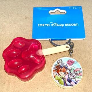 Disney - ディズニー ズートピア アイスキャンディー キーチェーン キーホルダー新品