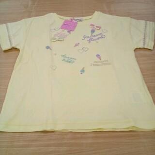 メゾピアノジュニア(mezzo piano junior)の新品未使用 メゾピアノ 140cm 半袖 Tシャツ 02MN06141516(Tシャツ/カットソー)