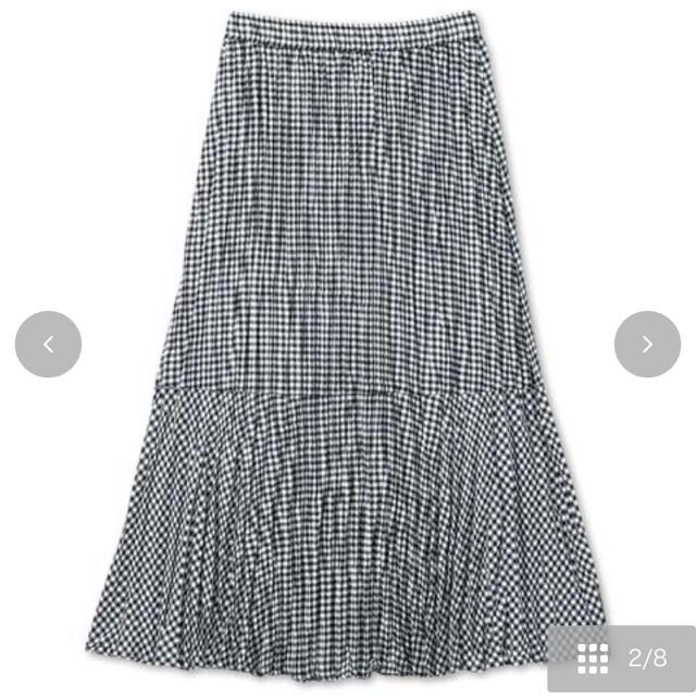 しまむら(シマムラ)の★新品 shimamura しまむら×てらさん ギンガムチェックスカート M レディースのスカート(ロングスカート)の商品写真