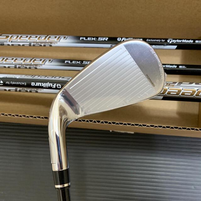 TaylorMade(テーラーメイド)の新品 テーラーメイド SIM グローレ  #6-PW 5本 Air スピーダーR スポーツ/アウトドアのゴルフ(クラブ)の商品写真