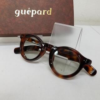 USED guepard ギュパール フレンチ ヴィンテージ ベッ甲メガネ フラ