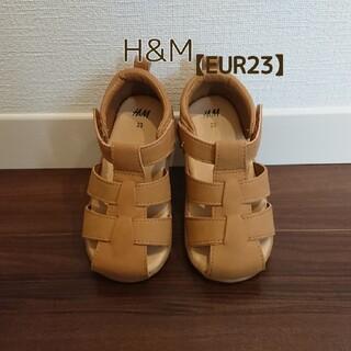 H&M - H&M サンダル 【EUR23(約14cm)】