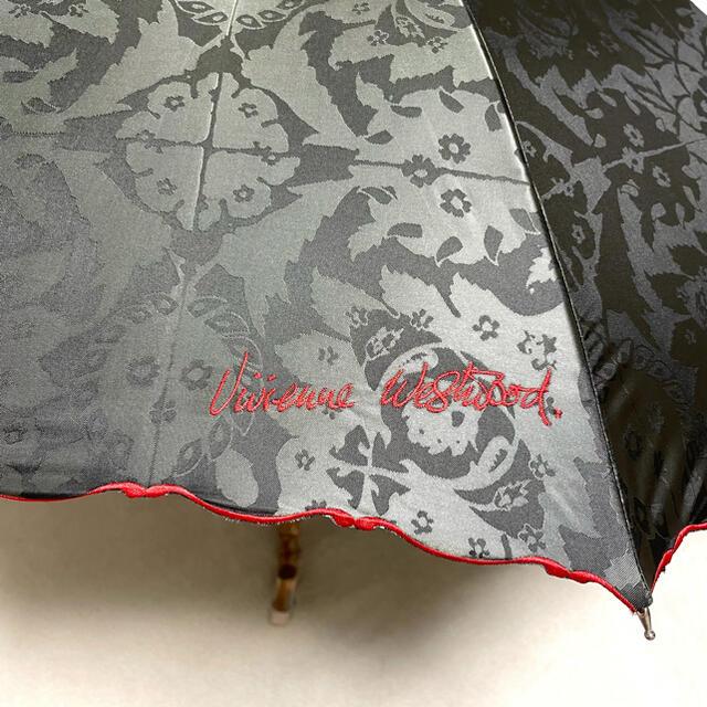 Vivienne Westwood(ヴィヴィアンウエストウッド)の未使用品 ヴィヴィアンウエストウッド パゴタ型 傘 ショートアンブレラ オーブ柄 レディースのファッション小物(傘)の商品写真