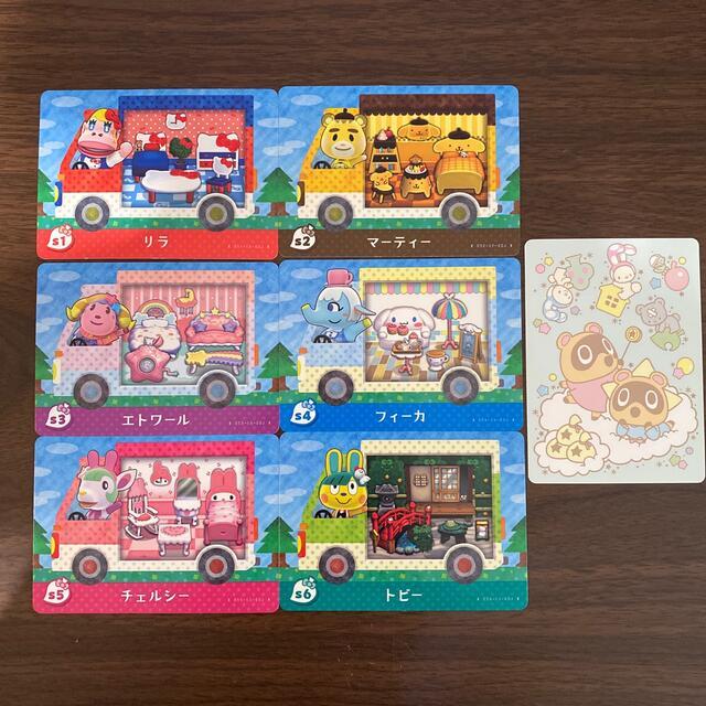 Nintendo Switch(ニンテンドースイッチ)のあつまれどうぶつの森 サンリオコラボコンプ amiiboカード エンタメ/ホビーのアニメグッズ(カード)の商品写真