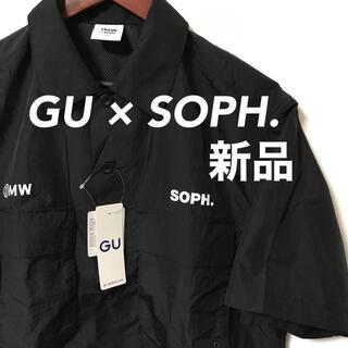 ジーユー(GU)のGU × SOPH. コラボ 半袖シャツ ナイロン 即完 ジーユー ソフ S(シャツ)