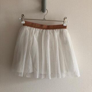 プチバトー(PETIT BATEAU)のプチバトー チュールスカート 8ans/128cm(スカート)