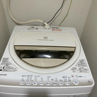 東芝 - TOSHIBA 全自動洗濯機 6kg AW-6G2 6.0kg