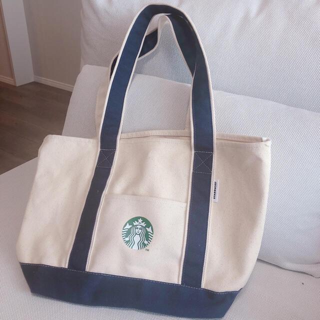 Starbucks Coffee(スターバックスコーヒー)のスターバックス 2020 トートバッグ 一度使用 エンタメ/ホビーのコレクション(ノベルティグッズ)の商品写真