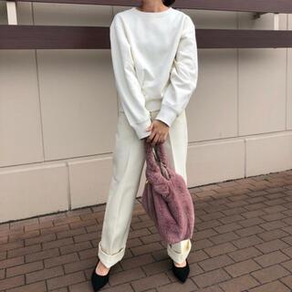 ユニクロ(UNIQLO)の美品 UNIQLO ユニクロ スウェットクルーネックシャツ トレーナー M(トレーナー/スウェット)