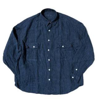 PORTER - 19ss Porter Classic ロールアップリネンストライプシャツ
