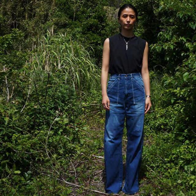 Fabiane Roux(ファビアンルー)の今季 新品 67nowos パッチポケット デニム  レディースのパンツ(デニム/ジーンズ)の商品写真