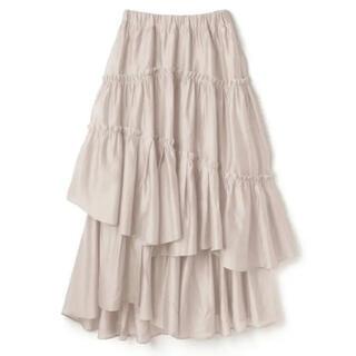 GRL - GRL 白石麻衣 シアーフリルフレアスカート