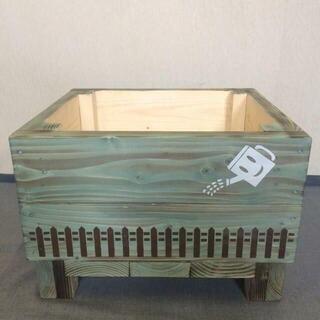 《プランターA*》ハンドメイド 園芸用品 踏み台 おもちゃ箱 収納 ガーデニング(プランター)
