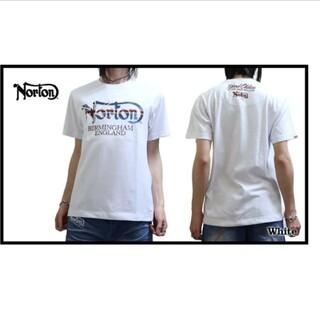 ノートン(Norton)のSALE!! 6469円→3980円新品NORTONノートンユニオン刺繍T(Tシャツ/カットソー(半袖/袖なし))