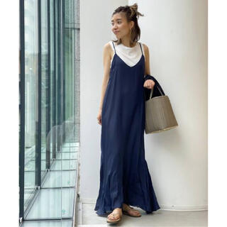 L'Appartement DEUXIEME CLASSE - New Wash Maxi One piece ニューウォッシュマキシワンピース