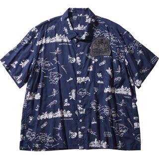PORTER - ポータークラシック 21ss アロハシャツ Sサイズ
