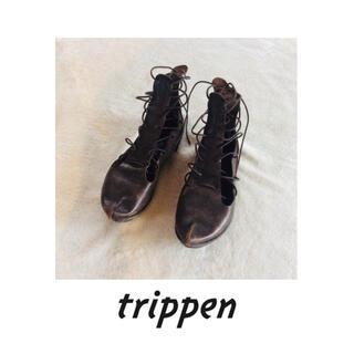 トリッペン(trippen)のtrippen トリッペン パリで購入 レースアップ サンダル(サンダル)