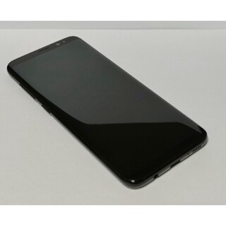 au Galaxy S8 SCV36 ブラック SIMフリー