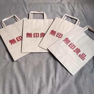 MUJI (無印良品) - 【無印良品】MUJI ショップ袋 紙袋 ラッピング ギフト BOX