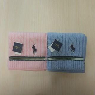ラルフローレン(Ralph Lauren)のラルフローレン タオルハンカチ 2枚 新品 ⑯(ハンカチ)