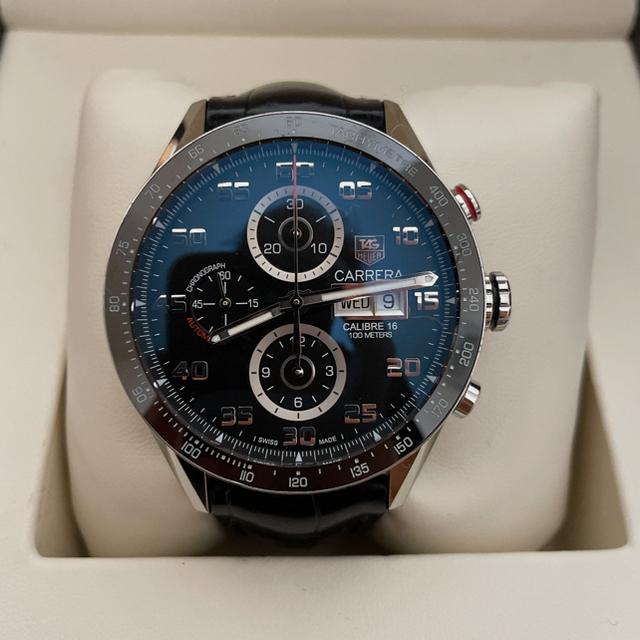 TAG Heuer(タグホイヤー)のsalty様『カレラ タキメーター』 クロノグラフ  メンズ 腕時計  中古 メンズの時計(腕時計(アナログ))の商品写真