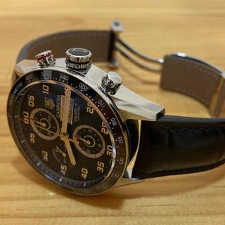 タグホイヤー(TAG Heuer)のsalty様『カレラ タキメーター』 クロノグラフ  メンズ 腕時計  中古(腕時計(アナログ))