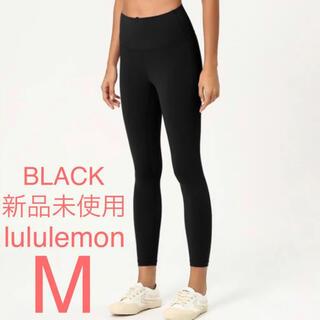 lululemon - lululemon ルルレモン ヨガレギンス 黒 M(8)