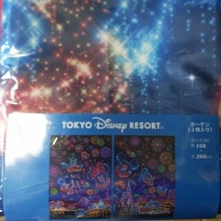 Disney - ディズニー リゾート限定 花火 夜空 カーテン タッセル