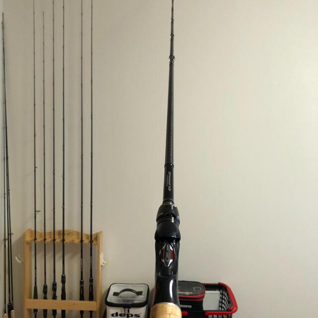 SHIMANO(シマノ)のシマノ ポイズングロリアス  169XH-SB スポーツ/アウトドアのフィッシング(ロッド)の商品写真