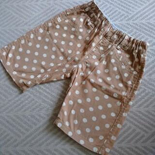 ムジルシリョウヒン(MUJI (無印良品))の無印良品 キッズ ショートパンツ 100cm 水玉   ベージュ(パンツ/スパッツ)