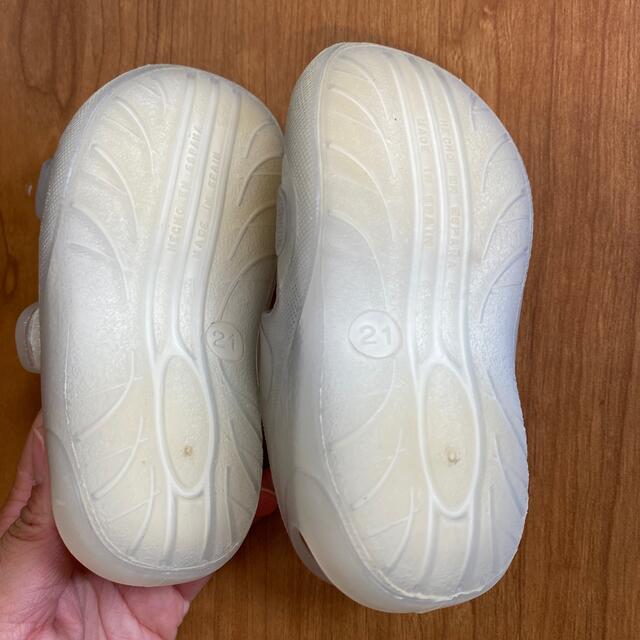 igor サンダル ホワイト 21サイズ(12.5cm) キッズ/ベビー/マタニティのベビー靴/シューズ(~14cm)(サンダル)の商品写真