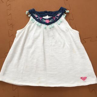 ロキシー(Roxy)のRoxy 4t(日本サイズ100くらい)ノースリーブチュニック(Tシャツ/カットソー)