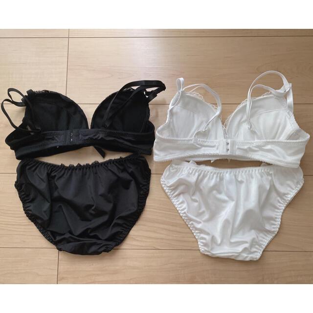 【新品】ブラジャー2点セット B70 レディースの下着/アンダーウェア(ブラ&ショーツセット)の商品写真