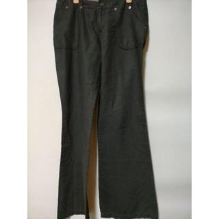 ミッシュマッシュ(MISCH MASCH)のPRDR 棉麻 ブーツカット パンツ ミッシュマッシュ(カジュアルパンツ)