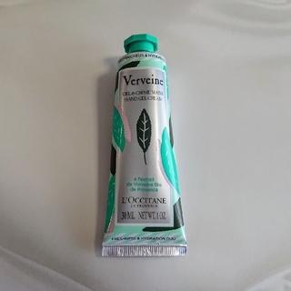 ロクシタン(L'OCCITANE)の新品★ロクシタン ヴァーベナ バイカラーハンドクリーム(ハンドクリーム)