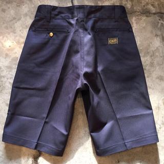 CALEE - CALEE T/C TWILL CHINO SHORT PANTS <NAVY>