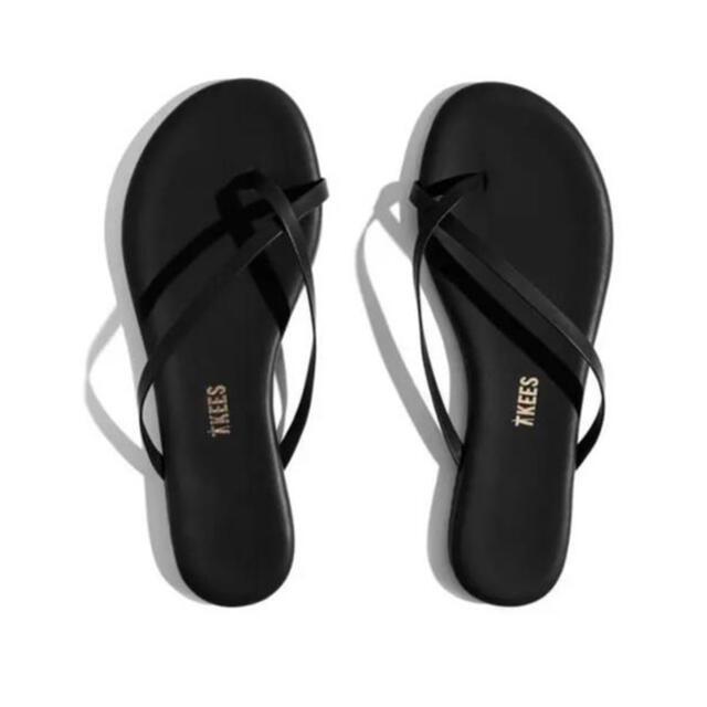 DEUXIEME CLASSE(ドゥーズィエムクラス)の新品未使用⭐︎TKEES⭐︎Riley Sable黒 24cm ビーチサンダル レディースの靴/シューズ(ビーチサンダル)の商品写真