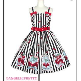Angelic Pretty - angelic pretty Cherry Stamp ジャンパースカート